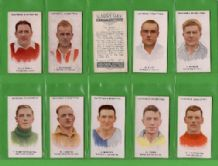 Tobacco cigarette cards Footballers 1934 set of 75